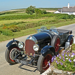 Bentley at Gunwalloe by Tim Green aka atoach