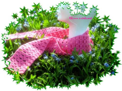 Pinkki pylväshuivi_2