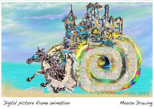 Animation frame/FF mendoza/ Digital Drawing/the Nineties/Lateral diary by FFMENDOZA -AUSTRALIA