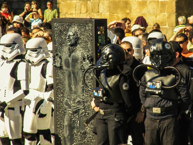 Marcha aniversario Star Wars Santiago 2010
