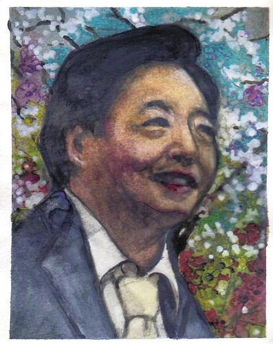 Heanu Kang (Larry). Cherry blossom