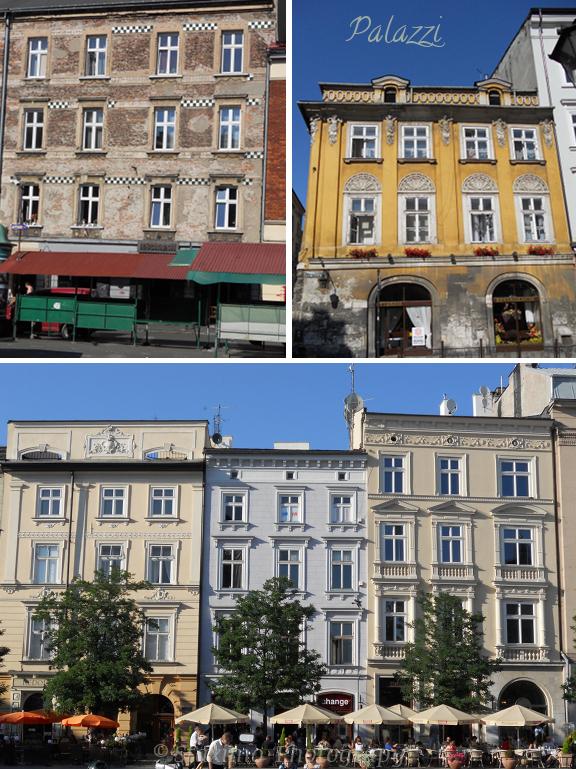 Cracovia: i palazzi