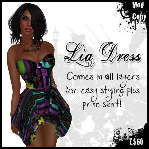 [IF] Lazy Sunday Item: {Dress} Lia in Purple II