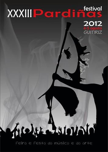 Guitiriz 2012 - Festival de Pardiñas - cartel