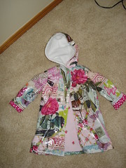 Front of Raincoat