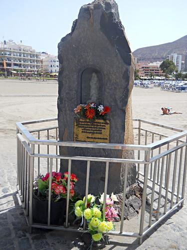 Statue Virgen Del Carmen, Los Cristianos