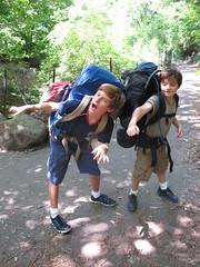 Practice Hike in Prospect Park