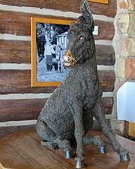 Brighty of the Canyon statue - North Rim Lodge
