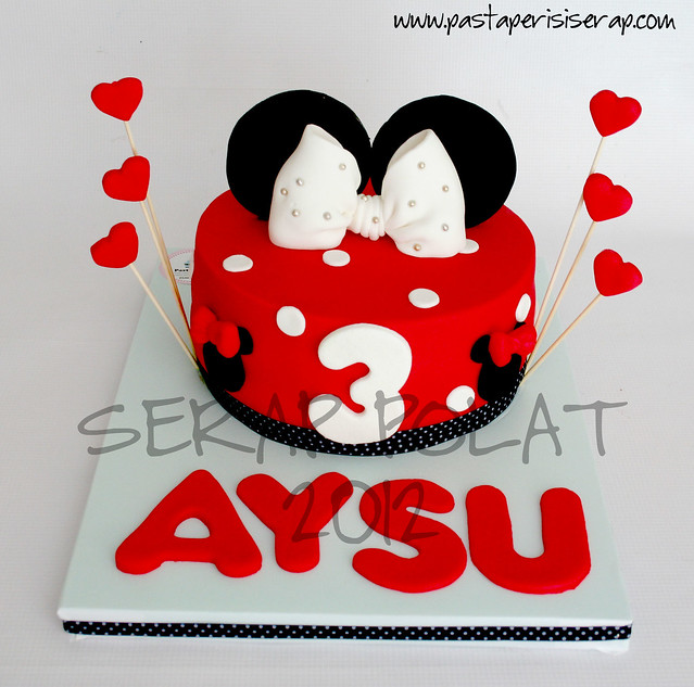 Minnie mouse pastası- AYSU