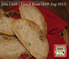 Julia Child's French Bread (BBB August 2012)