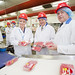 Visit to Dunbia's Dungannon beef processing plant, 15 August 2012