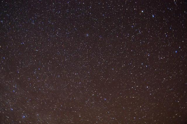 Crimean night sky