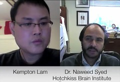 Interview with Dr. Naweed Syed, Hotchkiss Brain Institute, Neurochip co-lead researcher