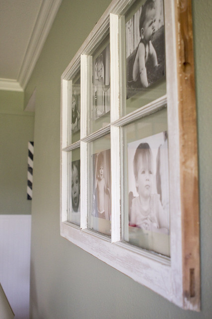 Diy Antique Window Picture Frame A Dollop Of My Life