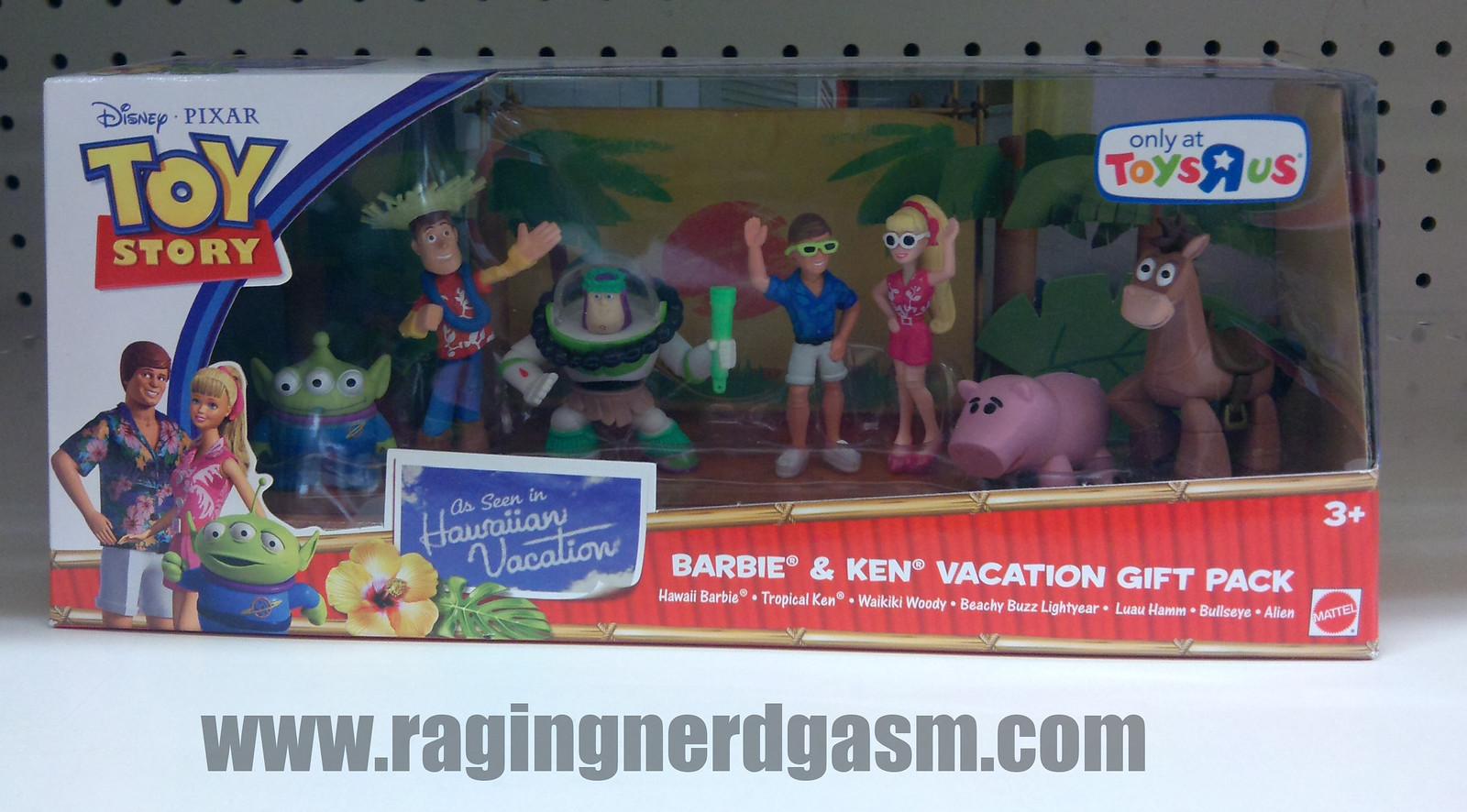 Pixar's Toy story Figurine Gift sets Barbie & Ken vaction gift pack_03
