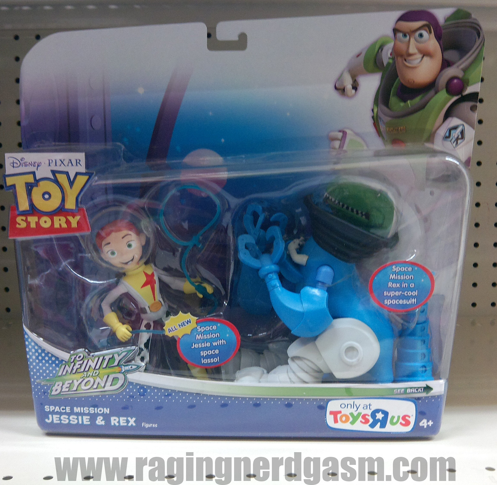 Pixar's Toy story Action FiguresSpace Mission_02