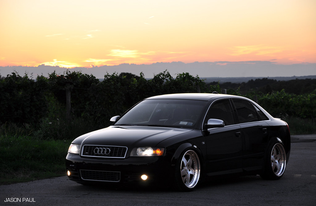 2004 audi s4 v8 black 6mt rotiform milltek kw v3 39 s 6speedonline porsche forum and. Black Bedroom Furniture Sets. Home Design Ideas