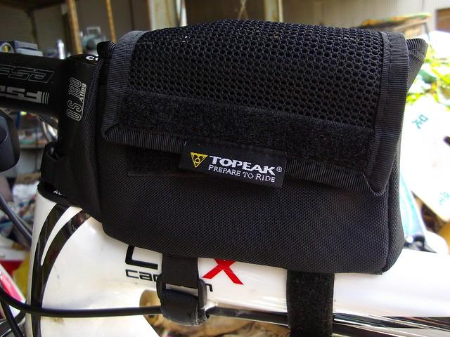 topeak トライバッグ(レインカバー付き) #1