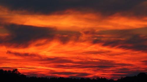 sunset sky nature canon finland fire powershot soe skyonfire auringonlasku sx40 flickraward canonpowershotsx40hs