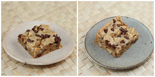 Blondies - Alice Medrich recipe