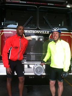 LAFD Firefighter and Cadet Join Bay Area to L.A. Ride for Fire Service Cancer Awareness. Click to view more...