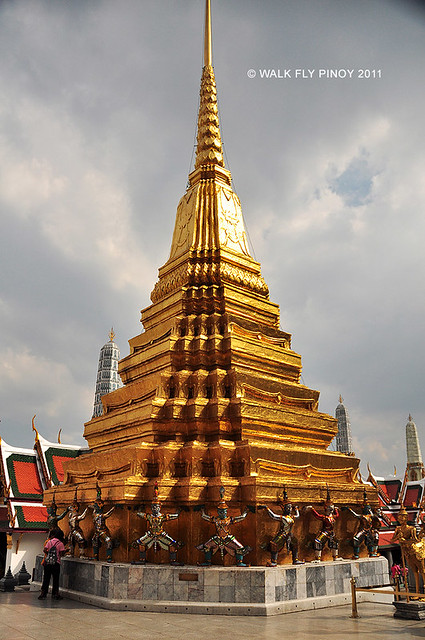 Capture the Colour: Yellow at the Grand Palace, Thailand