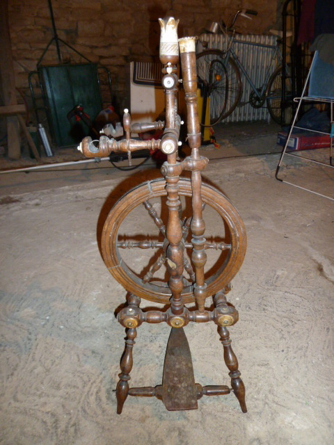 Antique Spinning Wheel Flickr Photo Sharing