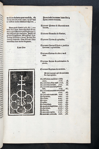 Colophon and printer's device from Averroes: Colliget