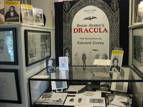 Dracula memorobilia