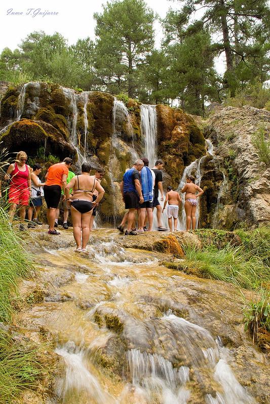 Guazalamanco: Cascada