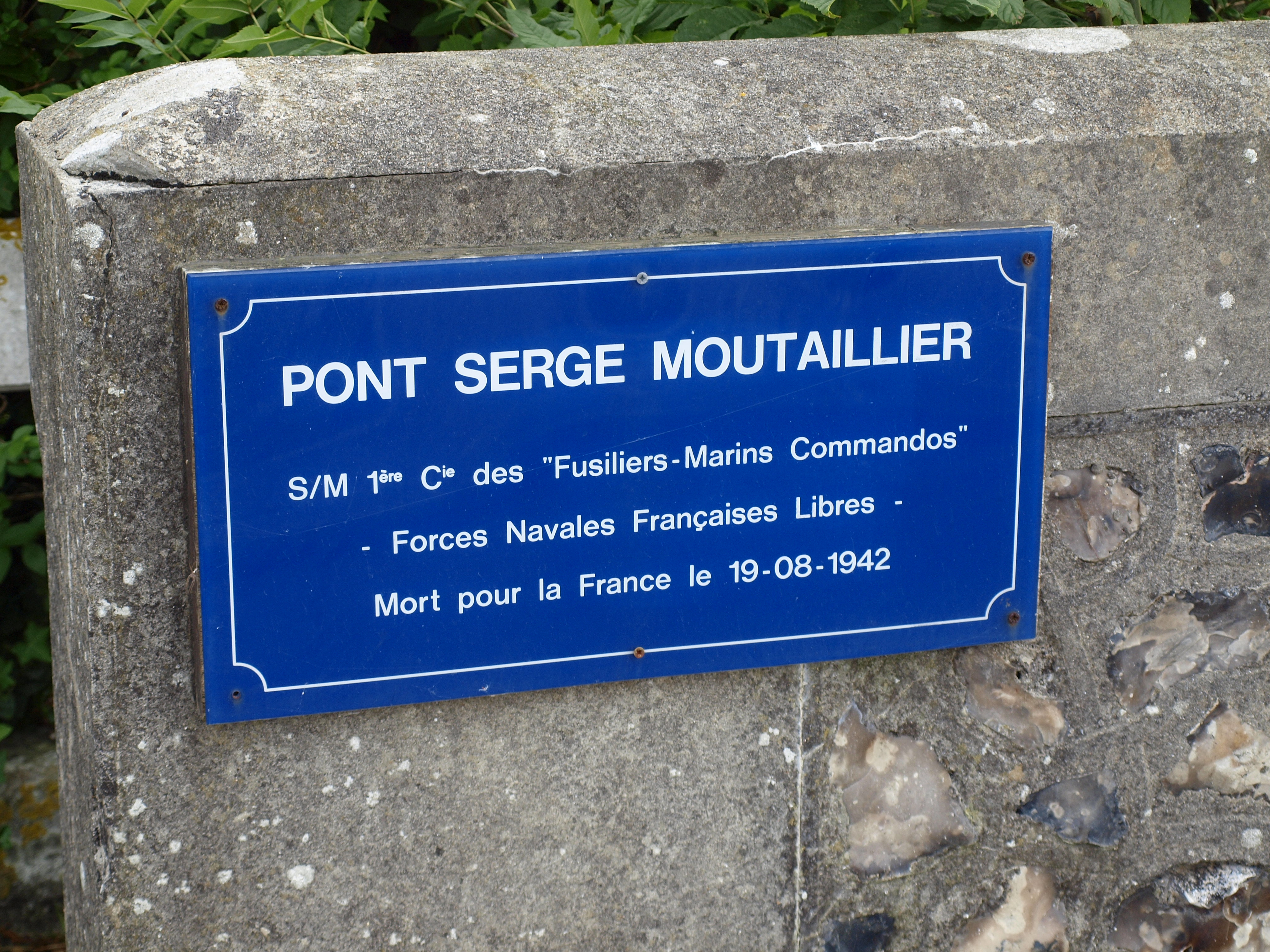 Berneval, pont Moutaillier