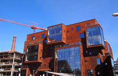 New (rusted) Building development in Tallinn