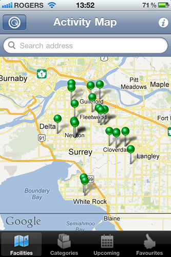 GoSurrey iPhone App