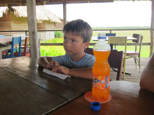 Finn and his Fanta at Amigos