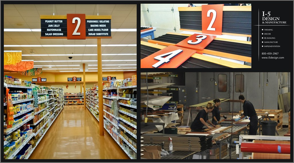 Supermarket Design | Aisle Markers | Aisle Signs | Grocery ...