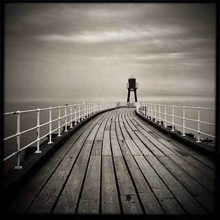 The pier at Whitby.  #myiphoneismypalette #shithot #whatitis  #instagood #editfromtheheart #editlovers #unitedbyedit #instagramhub  #all_shots #editoftheday #editaddicts #photooftheday  #england #uk #iphoneonly #editjunky  #instahub  #Whitby #seaside #bw