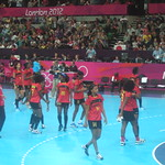 Angola (in their match against Montenegro)