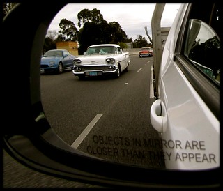 Thr Rear View Mirror.