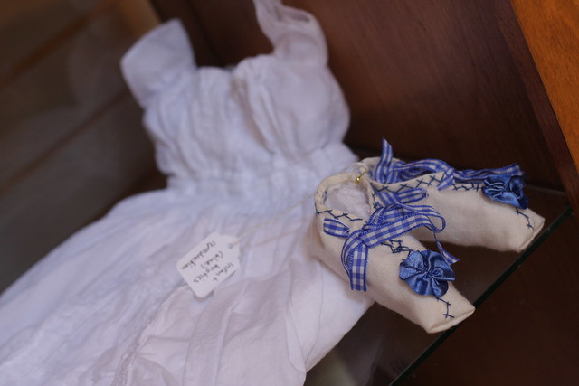 Baby clothing-End of the Oregon Trail Interpretive Center