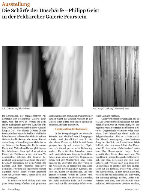 Kultur September 2012.indd