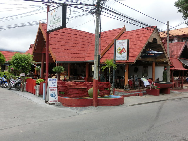 Restaurants & Shops - Lamai Beach Rd