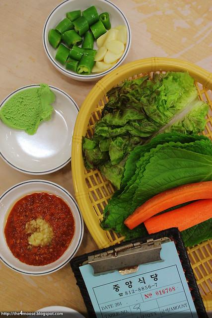 Noryangjin - 중앙식당