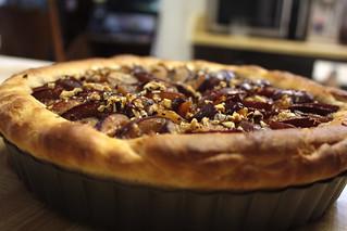 brioche plum tart