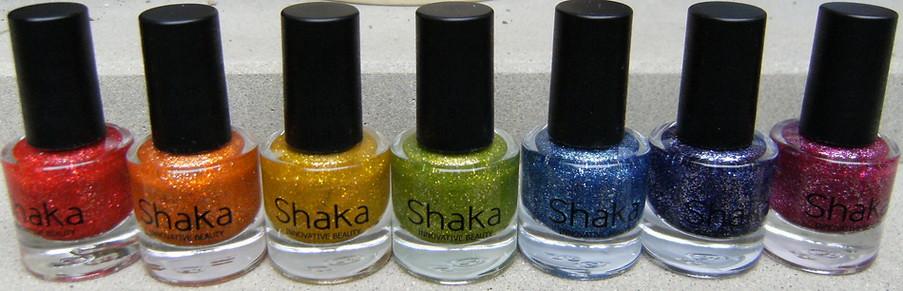 Shaka glitters!