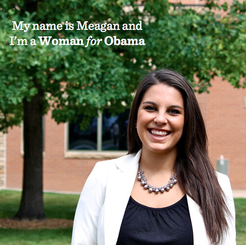 Meagan Woman for Obama