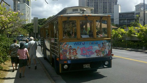 hawaiian bus