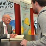 Wilbur Smith | Wilbur Smith signs books for his fans