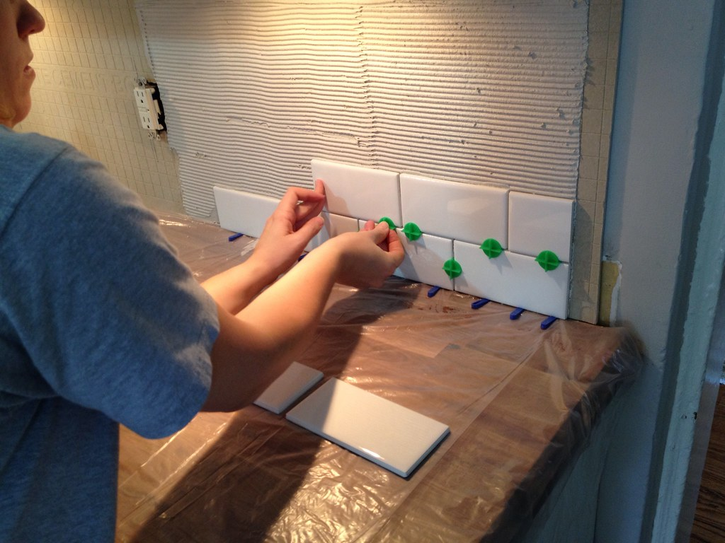 Swearing and Tiling. Tiling and Swearing. - Old Town Home
