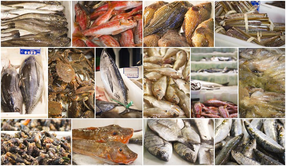 Pescados en Bueu