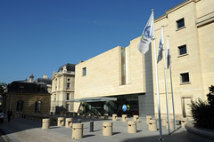 Main entrance of OECD Conference Centre